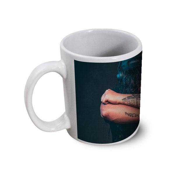 Publicitaire Personnalisé Ceramique Panoramique Blanc Mug Couleur Impression OiPZTkXu