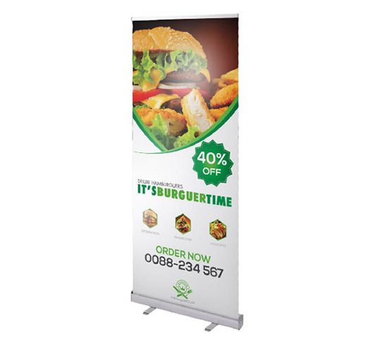 Impression roll up decolit 600 x 2050 mm, prix degressif