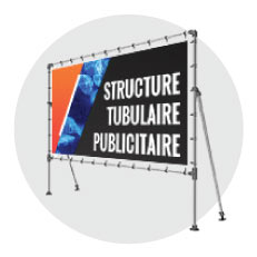 Structure tubulaire Fitclamp