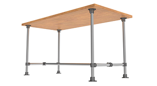 Table tubulaire standard