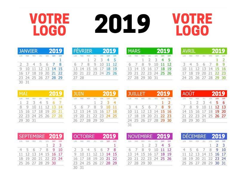 Calendrier Photos Personnalise.Calendrier De Banque A4 29 7 X 21 Cm Recto Verso A Partir De 50 Unites