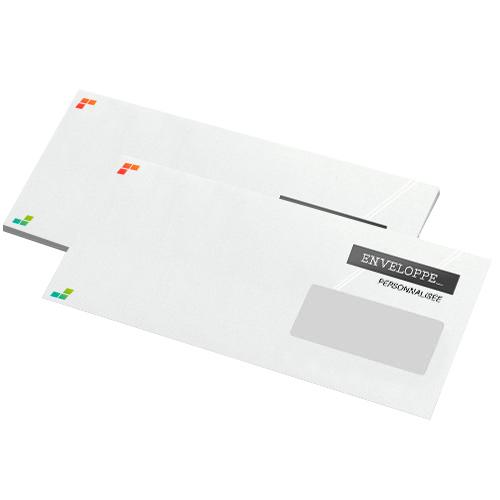 Achat Enveloppe Personnalisée Dl Avec Fenêtre Recto Signa Print