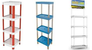 Etagere stand expo