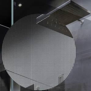 DIMEXACT Film Adh/ésif D/écoratif Design /à Motif Carr/és Vintage pour Vitre D/époli de 1.52 m x 0.5 m en Rouleau